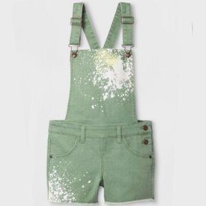 Green Overalls for girls